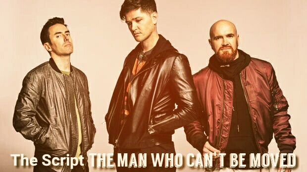 The Man Who Can't be Moved – The Script