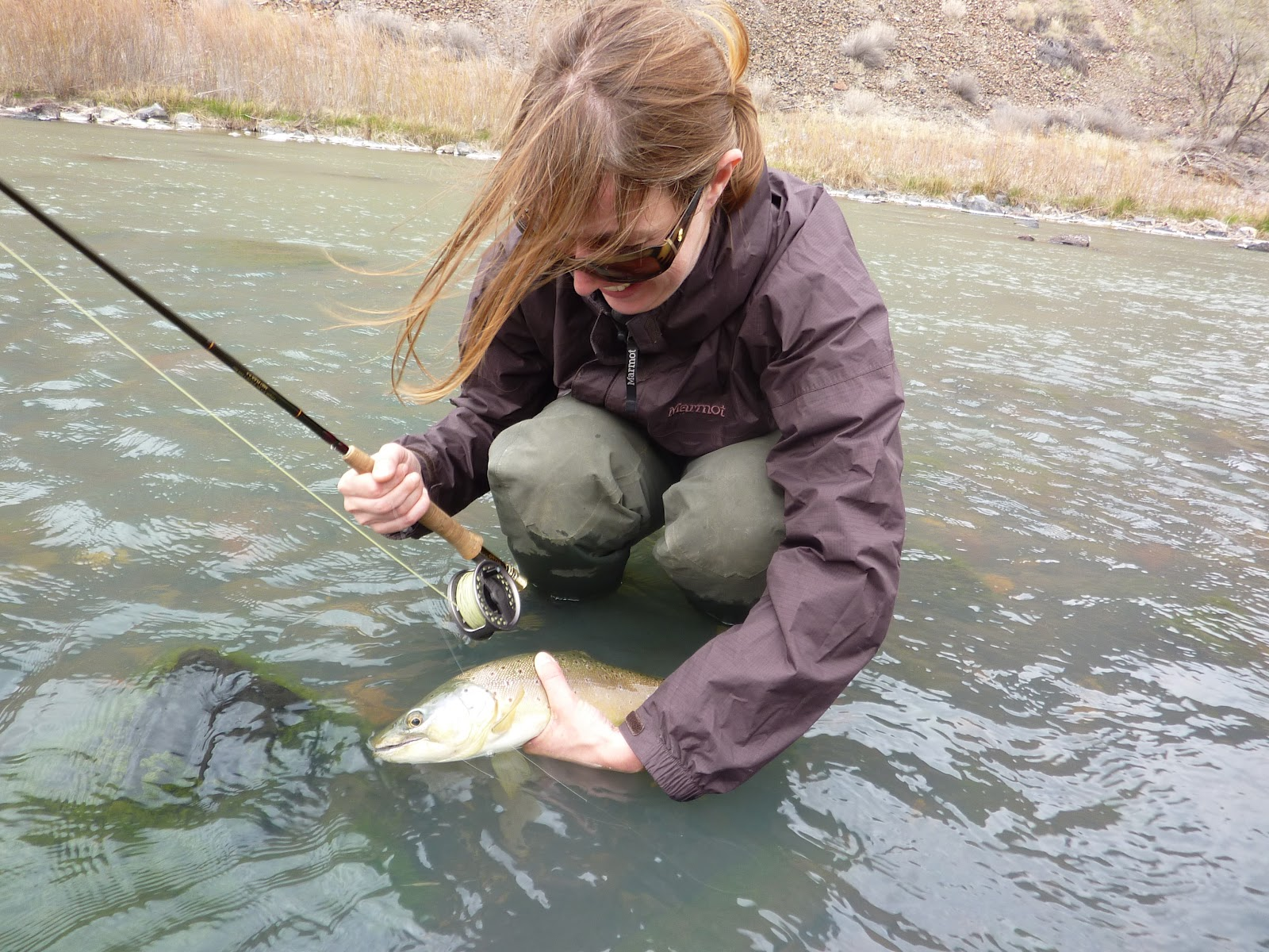 Owyhee River Fishing Asian Carp Oregon