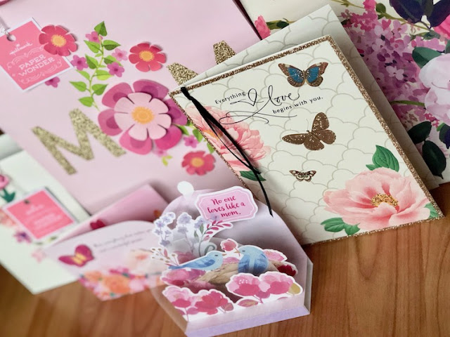 Hallmark Canada Mother's Day Paper Wonder Cards and Gift Bags