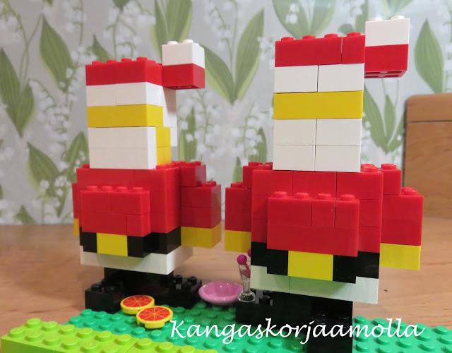 Lego joulupukki