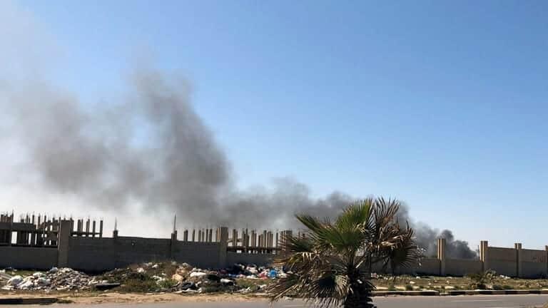 ليبيا-تواصل-حرب-الطائرات-المسيرة-والقتال-في-اتحاه-ترهونة