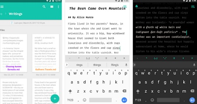 cara menulis cerita dan novel di android