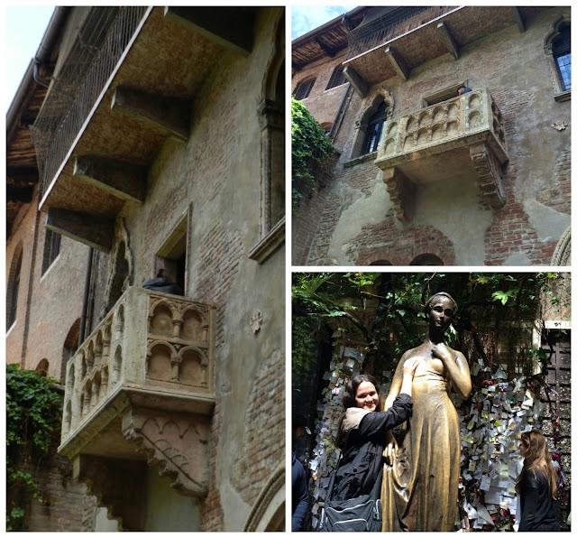 Um dia em Verona - suposta Casa da Julieta