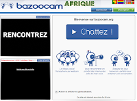How to chat on Bazoocam Afrique