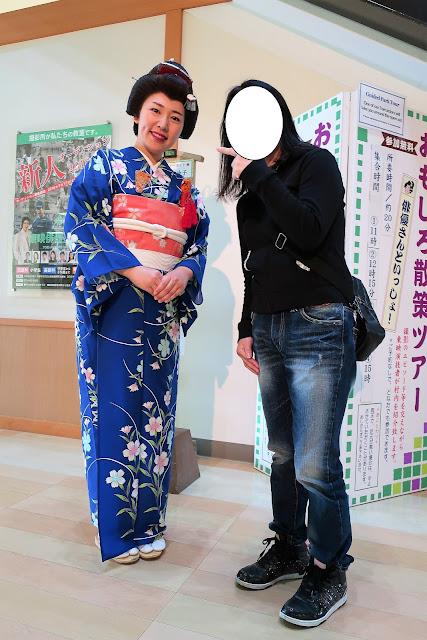 京都東映太秦映画村 おもしろ散策ツアー 子畠徳子