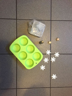 Basteln mit Kindern Seife Gießen Zutaten Rohseife Muffinförmchen Deko
