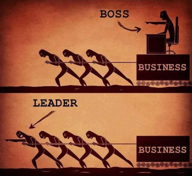 Boss vs leader?