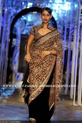 half and half bridal with velvet saree