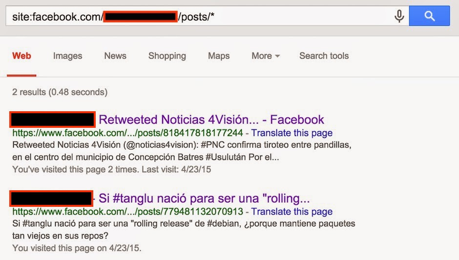 Un Informatico En El Lado Del Mal Facebook Como Ver Posts Privados