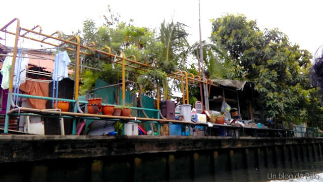 Canales de Bangkok - Tailandia