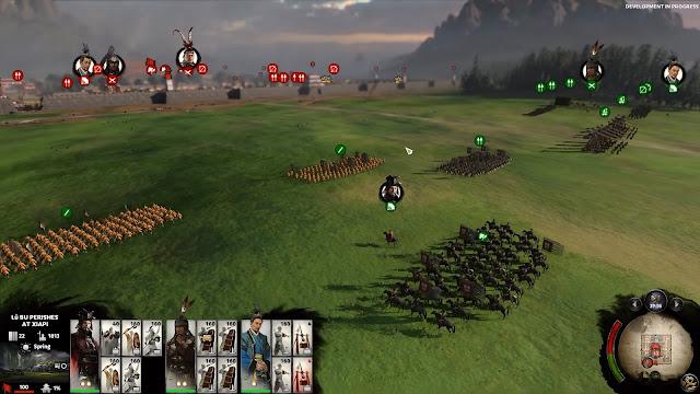 ฉากสนามรบอันคุ้นเคย สำหรับเกม สามก๊ก Total War : THREE KINGDOMS