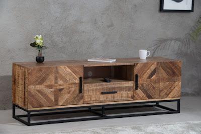 tv stolíky Reaction, interiérový nábytok, nábytok z mangového dreva