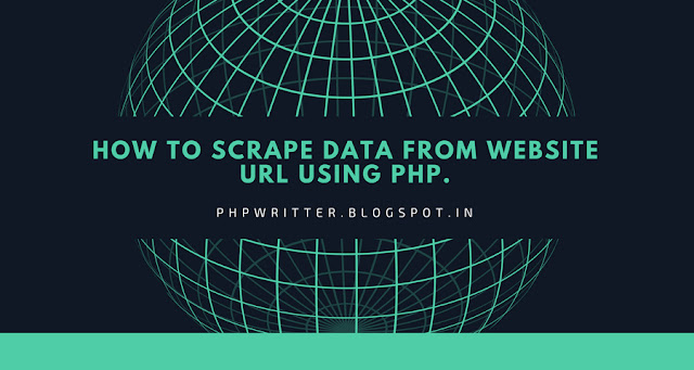 Scrape Data From Website