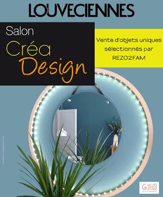 Affiche salon créa Désign Louveciennes