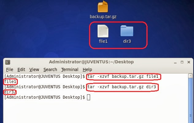 Linux : Extract or Unpack Files using TAR | IT Professional