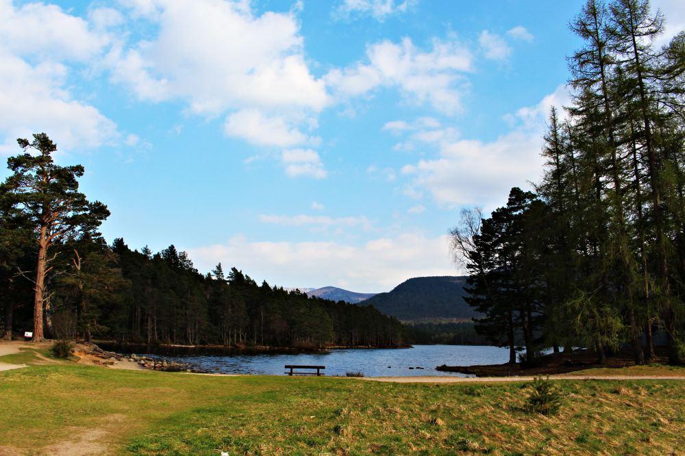 Loch an Eilein in the Rothiemurchus Forest near Aviemore