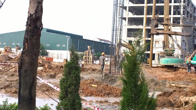 Công trường xây dựng Athena Complex