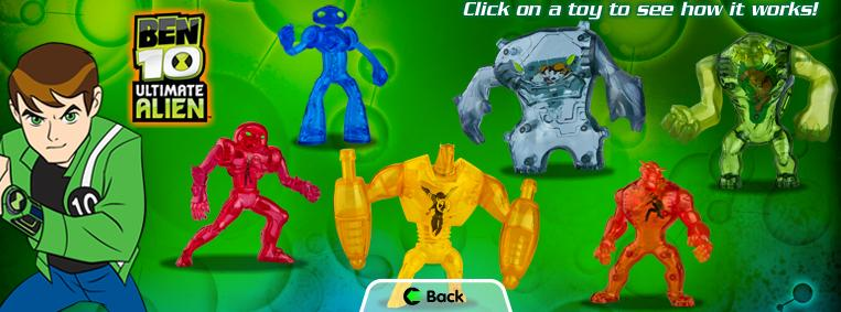 Ben 10 Upgrade Toy a day in a zoider's wo...