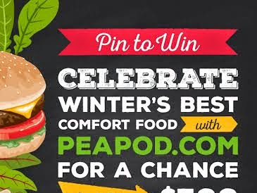 Winter's Best Comfort Food with Peapod.com!