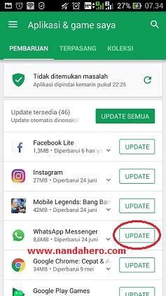 perbarui whatsapp terbaru