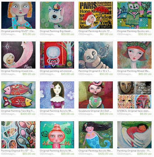 20% Off ALL my Original Paintings