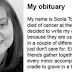 This Woman Wrote Her Own Obituary And It's A Must-Read For Everybody