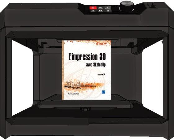 formation sketchup parler en 3d nouveau livre l 39 impression 3d pour tous avec sketchup. Black Bedroom Furniture Sets. Home Design Ideas