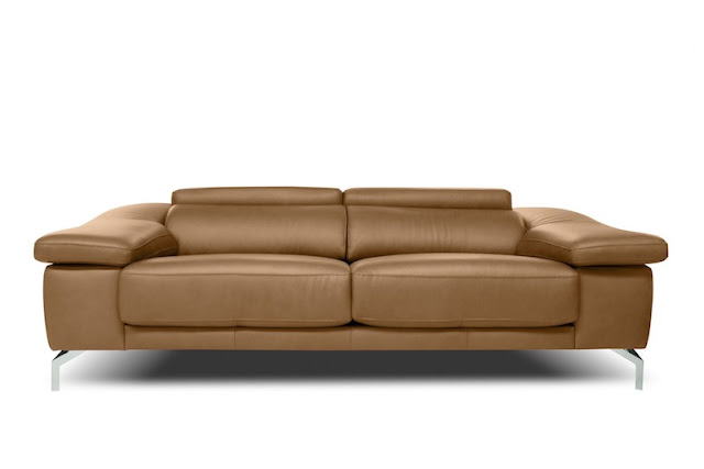 sofa de diseno color tostado chicanddeco