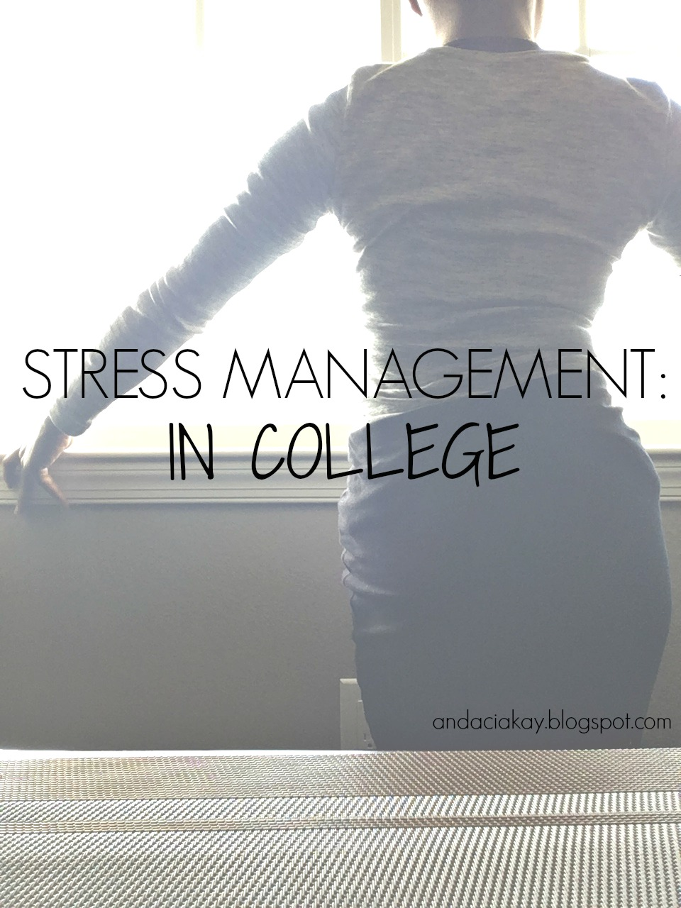 stress management in college