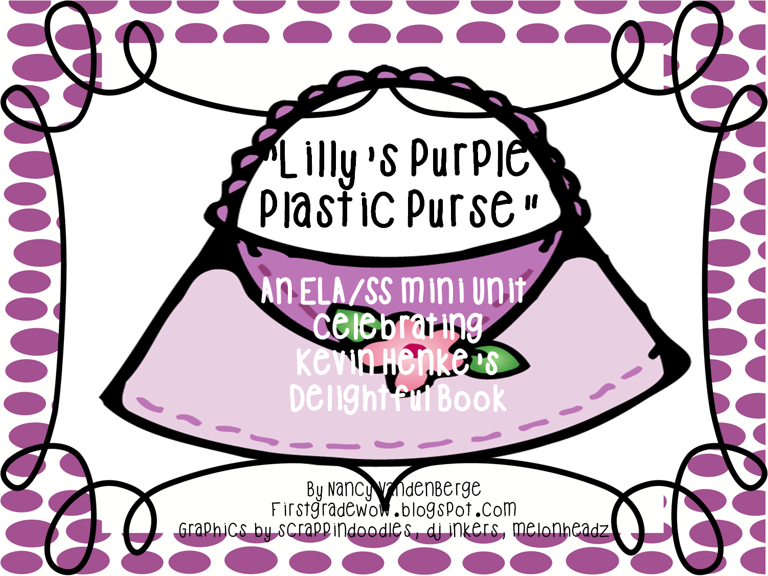 First Grade Wow Lilly S Purple Plastic Purse Mini Unit