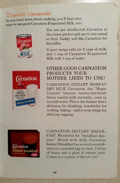 Carnation Evaporated Milk Recipe Book