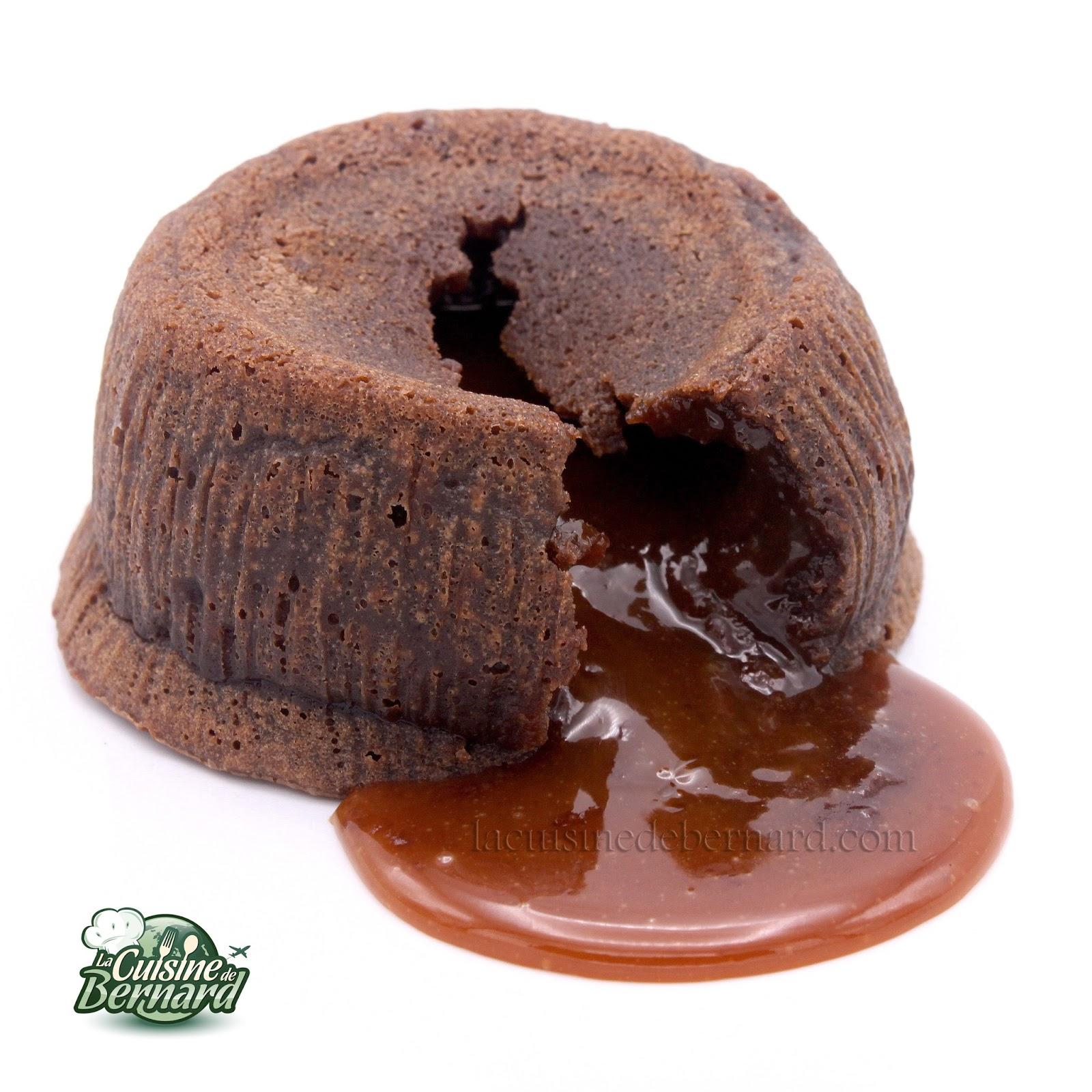 Mi Cuit Au Chocolat Cœur Caramel Coulant