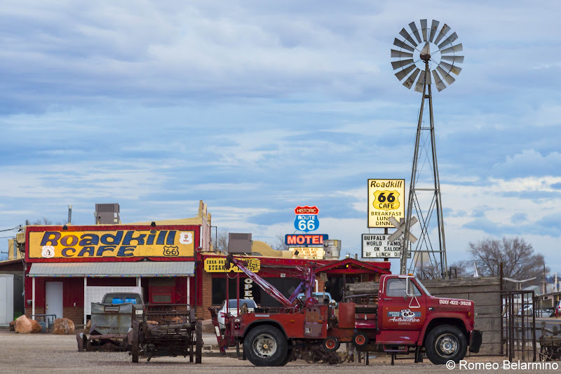 Seligman Arizona Route 66 90th Anniversary Road Trip