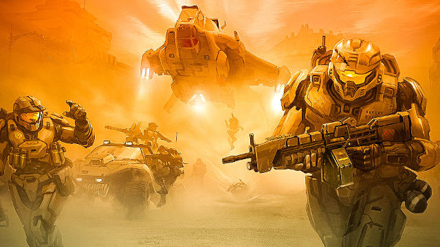 Halo 5 Spartan Rising - Fond d'écran en Full HD