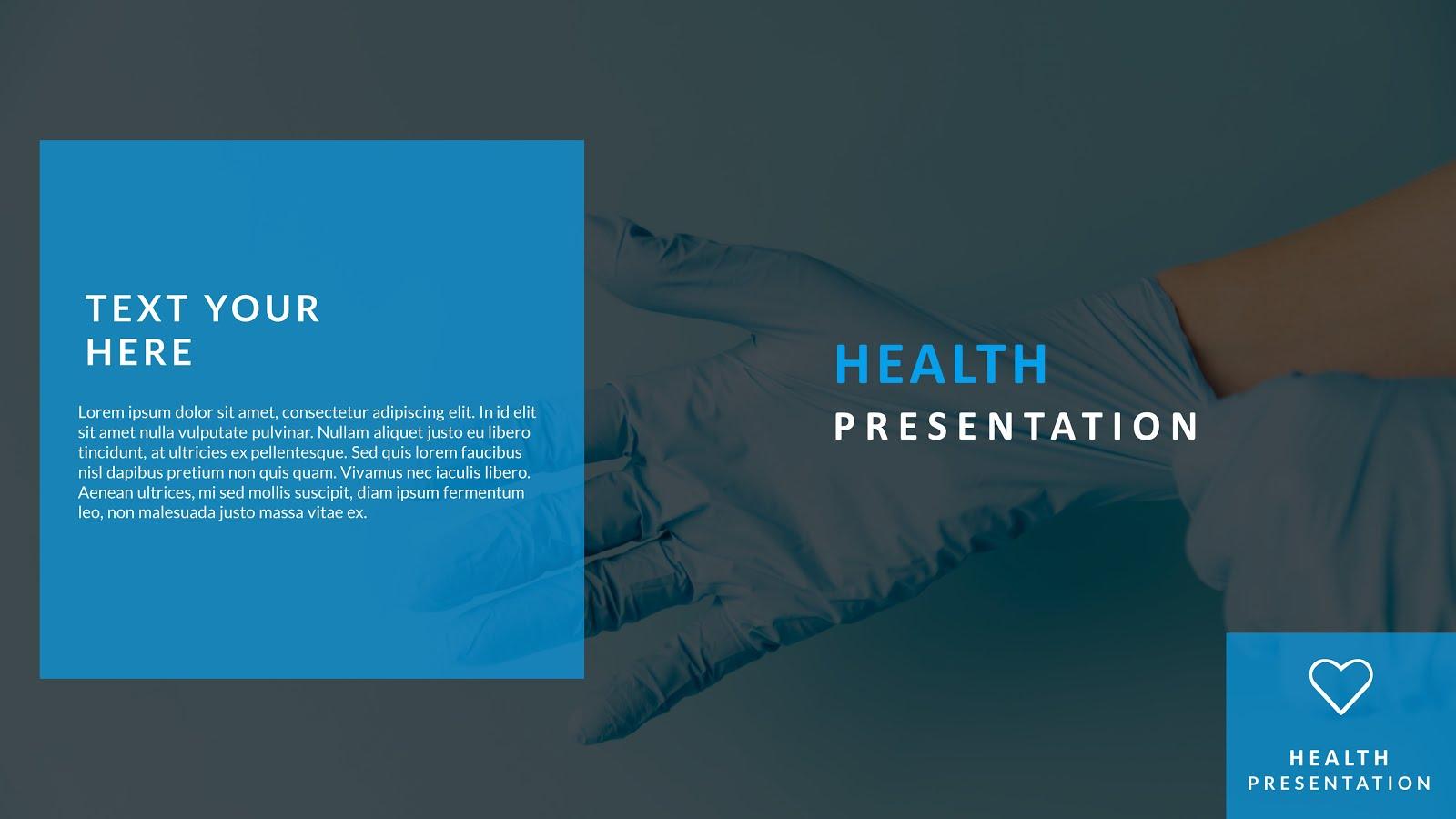 Slide Show Presentation with medical backgrounds ppt 2019