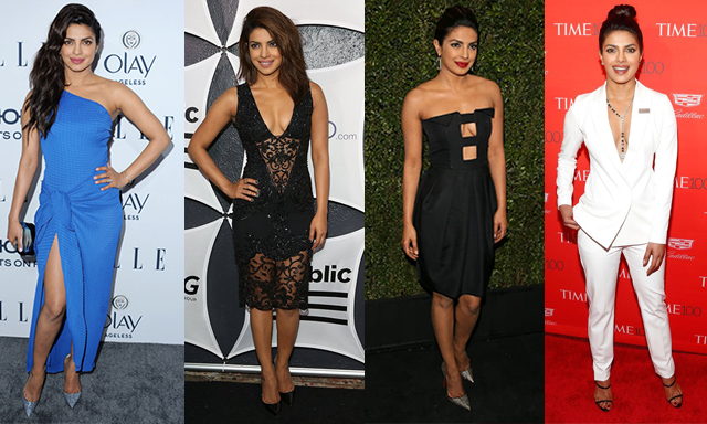 Priyanka Chopra style lessons, fashion tips, beauty tips/secrets and fitness.