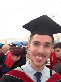 Sunny Stuart Winter graduating from Bucks New Uni