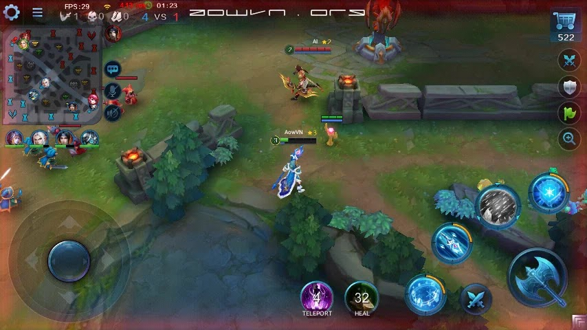 heroes evoled aowvn%2B%252810%2529 - Heroes Evolved - Game MOBA tuyệt hay trên Android & IOS