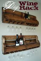 porta bottiglie pallets