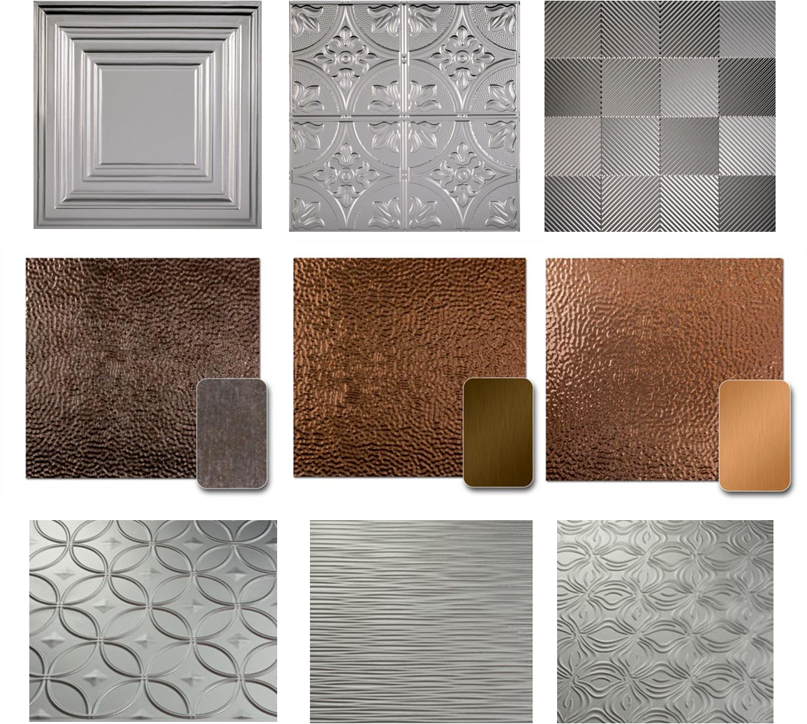 Beautify Your World Tin Tiles Not Just For Ceilings