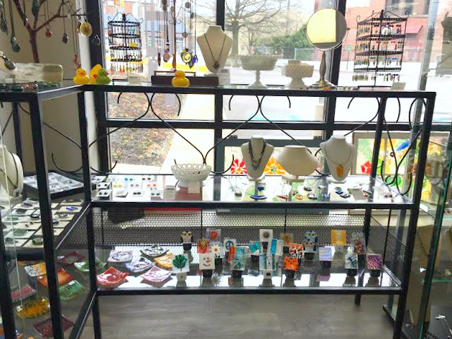 Artsmiths of Pittsburgh locally crafted glass items