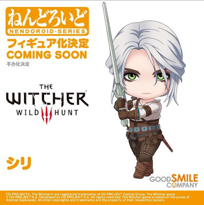 "Nendoroid Ciri de ""The Witcher 3: Wild Hunt"". - Good Smile Company"