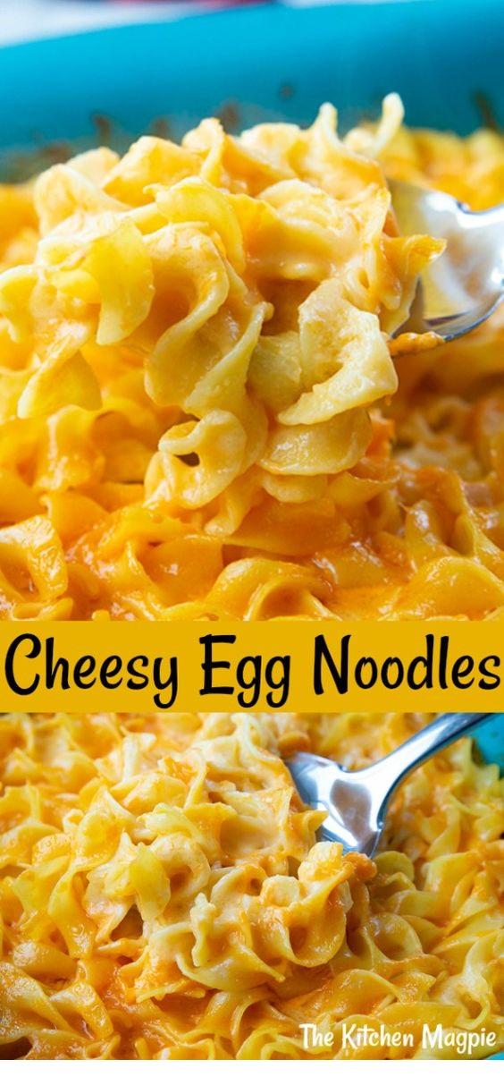 Cheesy Egg Noodles