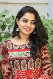 Telugu Actress Nikhila Vimal Latest Stills in Anarkali Dress  0135.JPG