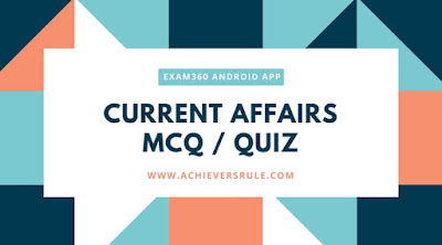 Daily Current Affairs Quiz - 15th May 2018