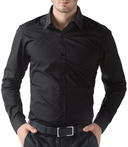 black long sleeve shirts