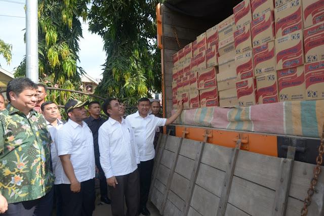 Menteri Perindustrian Bantu Peralatan IKM Korban Gempa Pidie Jaya