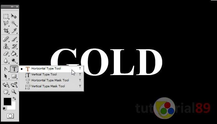 Cara membuat tulisan efek gold dengan photoshop