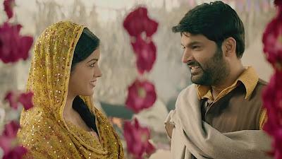 Kapil Sharma & Ishita Dutta HD Wallpaper Of Firangi Movie