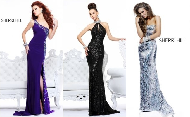 Sherri Hill special occasion long dresses